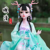 60cm厘米古装套装维多利亚20关节公主婚纱十二星座洋娃娃女孩玩具