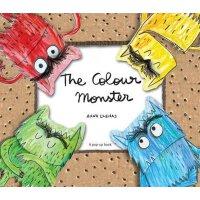 [现货]英文原版 The Colour Monster 我的情绪小怪兽 立体书 精装  有颜色的怪兽 立体绘本 Anna Ellenas