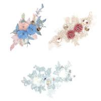 补衣服的图案花朵 补丁贴布贴大号时尚蕾丝贴花补丁刺绣花朵布贴补衣服装饰的图案花 P545
