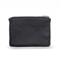 绵羊皮零钱包 短款钱包卡包 洁设计 男女情侣款SN5427 黑色