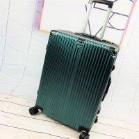 拉杆箱万向轮铝框女旅行箱20登机行李箱学生密码箱26皮箱24寸男