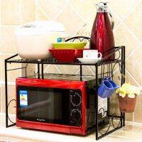 厨房微波炉架铁微波炉架厨房置物架烤箱架子收纳架厨具锅架
