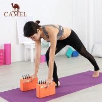 骆驼瑜伽砖正品进阶瑜伽块用品辅助工具垫砖泡沫舞蹈练功瑜珈砖厚