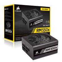 美商海盗船(USCorsair)额定550W RM550x 全模组电脑电源(80PLUS金牌/低噪音 /十年质保/全日