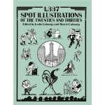 1,337 Spot Illustrations of the Twenties and Thirties (【按需印