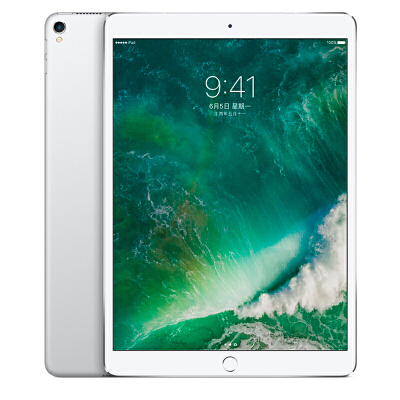 Apple iPad Pro 平板电脑 10.5 英寸(256G WLAN版/A10X芯片/Retina显示屏/Multi-Touch技术)银色 MPF02CH/A可使用礼品卡支付 国行正品 全国联保