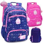迪士尼白雪公主女童休闲双肩书包小学生4-6年级3-5儿童中学生背包
