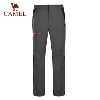 camel骆驼户外男款冲锋裤 防风保暖男士冲锋裤
