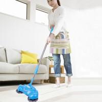20191211183643192手动家用手推式扫地机扫地机手推式家用懒人扫地器手动吸尘器扫帚笤帚扫把簸箕套装颜色随机