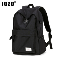 男士双肩包时尚潮流韩版旅行电脑背包校园个性初中高中学生书包男