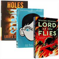 【现货合售】原版英文小说 Holes 洞 + Wonder 奇迹男孩+Lord of the Flies 蝇王 畅销小说