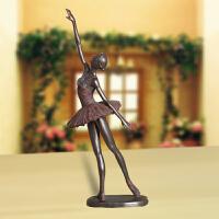 装饰品摆件家居客厅复古人物树脂欧式芭蕾舞女创意工艺品