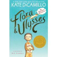 预售 Flora & Ulysses: The Illuminated Adventures 弗罗拉与松鼠侠 纽伯瑞金奖