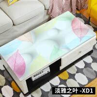 茶几桌布防水欧式长方形软塑料玻璃胶垫电视柜茶几垫网红桌垫