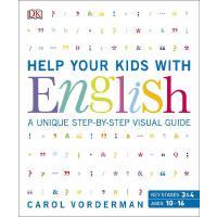 【中商原版】英文原版 Help Your Kids with English详教小孩学英语家长