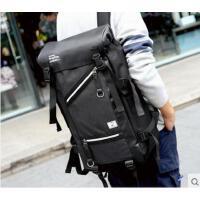 潮流街头气质笔袋户外多功能大容量包 旅行背包 精致耐磨耐用男士双肩包 防水