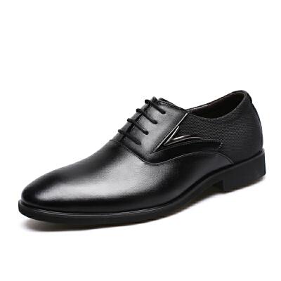 宜驰 EGCHI 正装皮鞋男士商务休闲皮鞋子男鞋 36178