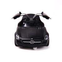 仿真奔驰SLS 儿童回力玩具小汽车模型玩具礼物 默认发白色