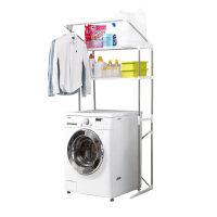 浴室滚筒洗衣机置物架落地阳台不锈钢收纳层架卫生间马桶架