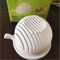 创意DIY切沙拉碗 水果沙拉切割碗水果蔬菜沙拉切片器神器