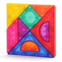 七巧板智力拼�D�和�早教益智玩具男3女6�q幼��@小�W生用磁性教具