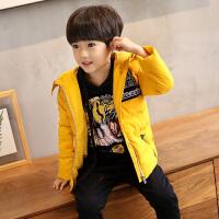 童装儿童棉衣外套加厚装2017新款男童男孩棉袄小贝潮品韩版