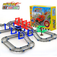 托马斯轨道火车轨道车儿童玩具火车玩具托马斯电动小火车套装