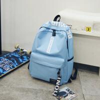 书包女韩版 高中学生电脑包大容量双肩包休闲旅行背包