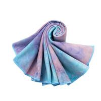 [当当自营]皮尔瑜伽 (pieryoga)加厚瑜伽铺巾 吸汗防滑瑜伽毯 麂皮绒健身毯 桃青色(送收纳袋)