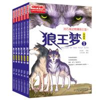 狼王梦 漫画版(6册/套)/儿童文学名家典藏漫画 沈石溪动物漫画王国