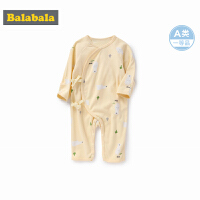 巴拉巴拉婴儿衣服连体衣春秋宝宝睡衣新生儿包屁衣和尚服卡通纯棉
