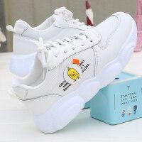 新款百搭学生女鞋运动鞋 ins休闲老爹鞋 韩版女士跑步鞋子街拍平底休闲鞋子
