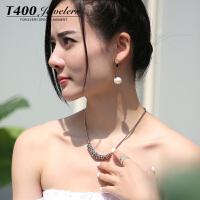 T400耳环韩国气质防过敏耳钉女个性简约 2941