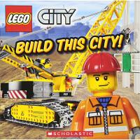 乐高城市 建造城市 Lego City Build This City! 英文原版 学乐