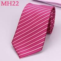201808260542407592018新款男士婚礼新郎玫红色结婚领带玫粉色伴郎结婚演出8公分丝领带