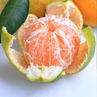 四川青皮蜜桔 橘子柑橘 青橘水果桔子 青柑5斤