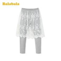 【5折价:89.95】巴拉巴拉女童打底裤2020新款春装儿童裤子中大童网纱裙裤洋气甜美