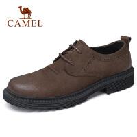 camel骆驼男鞋 秋季新品潮流休闲厚底低帮工装鞋日常休闲鞋子