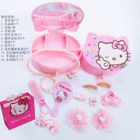 儿童kt猫发饰套装礼盒宝宝女童发夹发卡发圈头绳生日礼物盒装
