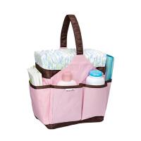 【当当自营】满趣健(munchkin)可携式尿不湿手提袋 妈咪包宝宝纸尿裤收纳包 婴儿拉拉裤便携包 尿不湿收纳袋储存包