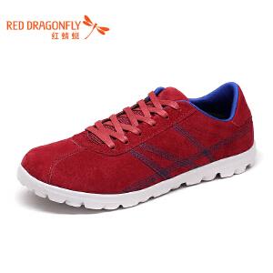 红蜻蜓男鞋2017年春秋新款运动休闲鞋舒适跑步鞋户外鞋舒适低帮鞋