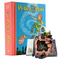 【中商原版】小飞侠 彼得潘 Peter Pan Pop-Up 立体书 英文原版 小飞侠彼得・潘