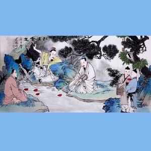 中国青年美术家协会常务理事,中国扇子艺术学会会员,中国山水画院专业画家,山东美术家协会会员,国家一级美术师高云鹏(松溪会友)