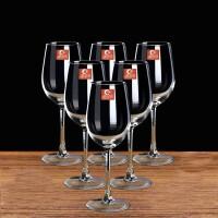 20191212235204465350ML红酒杯套装四只装家用醒酒器玻璃酒杯架高脚杯酒具