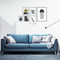 【限时直降 质保三年】北欧舒适系亲肤沙发W1880 组合沙发转角沙发牛皮沙发羽绒沙发乳胶沙发