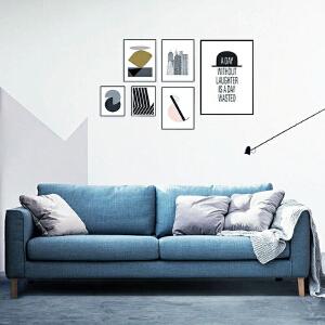 N空间 超感北欧沙发设计师款W1880 组合沙发转角沙发牛皮沙发羽绒沙发乳胶沙发