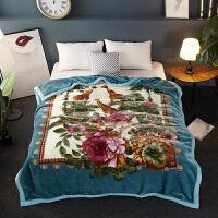 君别毛毯双层加厚冬季云毯双人盖毯被单人学生珊瑚绒毯子
