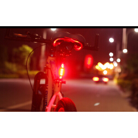 山地自行车灯 骑行车装备 配件 USB充电 自行车尾灯 警示灯