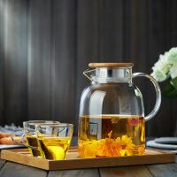 【家装节 夏季狂欢】玻璃茶壶耐高温加厚单壶过滤大号红茶茶具家用耐热煮茶泡套装