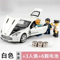 男孩合金玩具车小汽车跑车模型 儿童玩具回力车儿童仿真金属车模